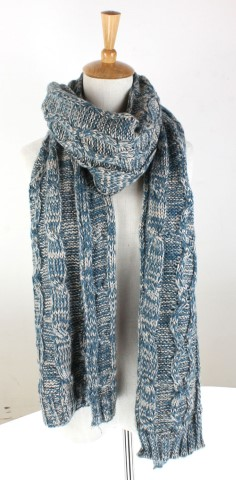 GK1957  Knitted Scarf