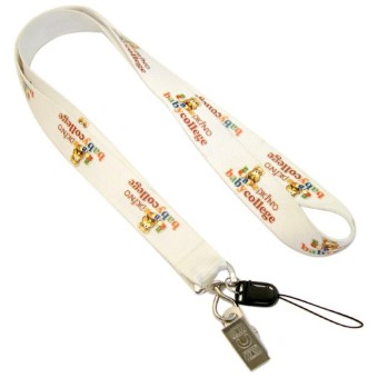 GK2376  Polyester Silk-Screen Printed Lanyards1020
